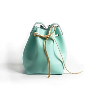 Pudding Bucket Bag-Sky Blue
