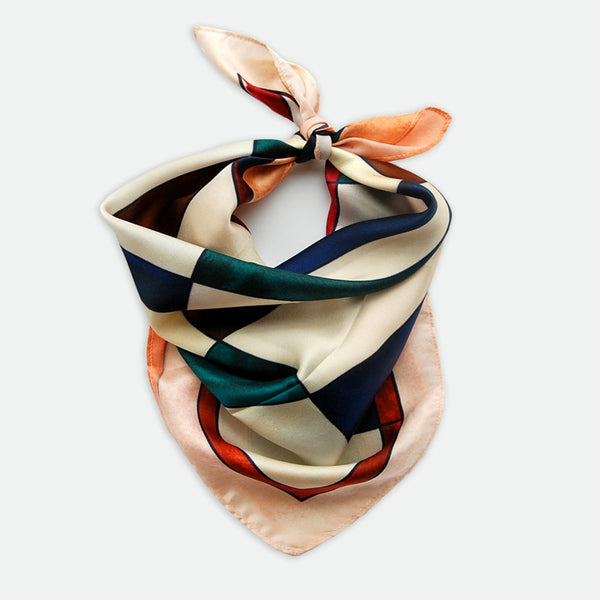 Sonia MIni Satin Silk Scarf