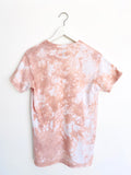 Tie-dye Top in Dusty Pink