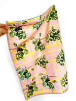 Grapes Linen Tea Towel