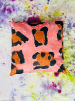Animal Skin Reversible Cushion