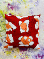 Animal Skin Reversible Cushion. Made to Order.