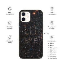 Hi Bye Galaxy Biodegradable Phone Case