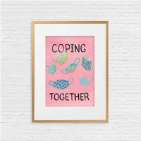 Coping Together. Original painting