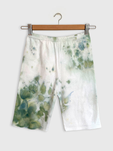 Tie-dye Biker Shorts to Match Sage Top