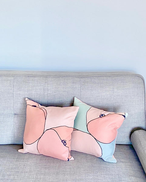 Feelin' Peachy Mini Cushions Set of Two Pre-order