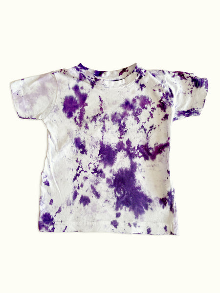 Tie-Dye Toddler Top in Lavender