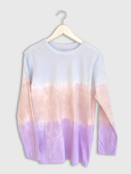 Dip Dye Skater Top in Pastels