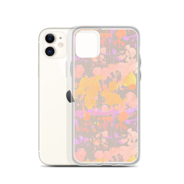 Tie-dye print iPhone case