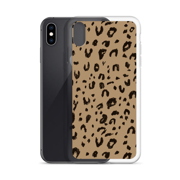 Leo print iPhone Case