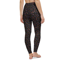 Rose Ditsy Yoga Leggings