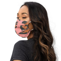 Animal Print Face Mask. Made to order