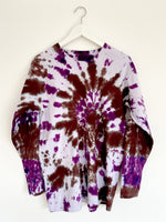 Tie-Dye Skater Top with Mandala Motive