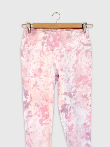 Tie-dye Leggings to Match Pink Long sleeve Top