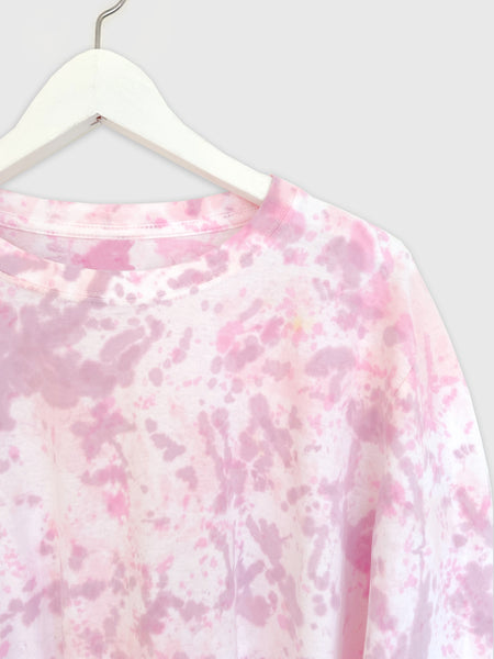 Tie-dye Skater Top in Pinks