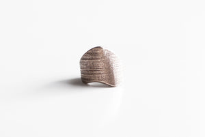 Bone Steel Ring