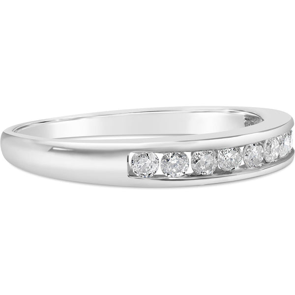 White Gold Eternity Ring For Women With 1/4 Carat Of Premium Quality Diamonds