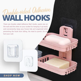 Double-Sided Adhesive Wall Hooks (Free Shipping)