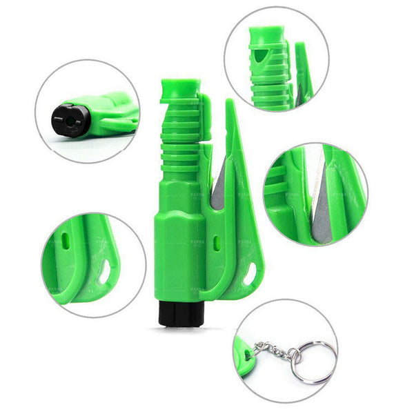 Mini Emergency Safety Hammer / Seat Belt Cutter