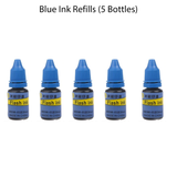 Blue Ink Refills (5 Bottles)