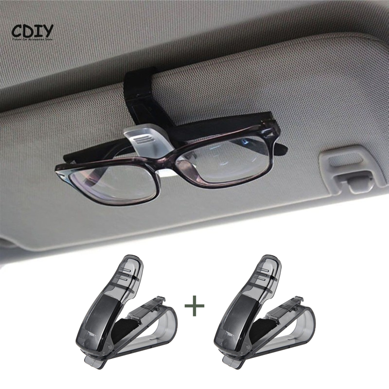 2Pcs Glasses Holders For Car