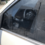Large Wing Mirror Film