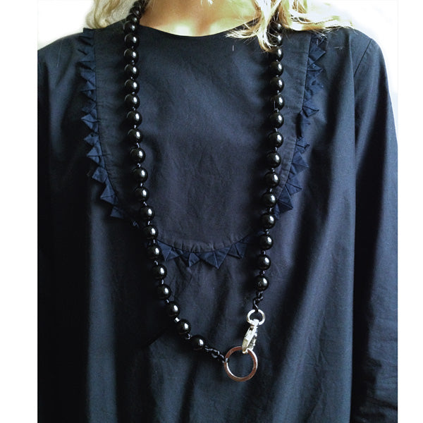 Poppy Key Charm Necklace - The Original by Les Moutons Noirs