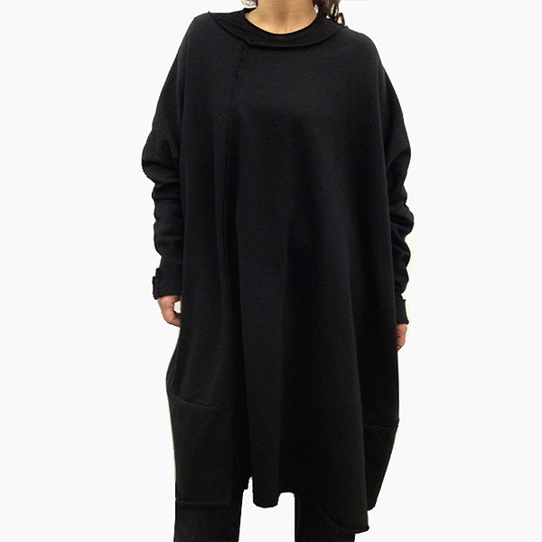 Wind Oversized Sweatshirt Dress