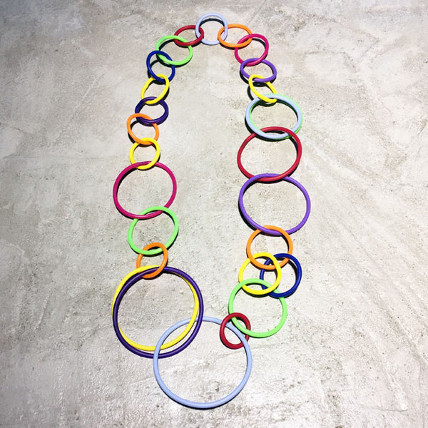 Ada Rubber Chain Necklace