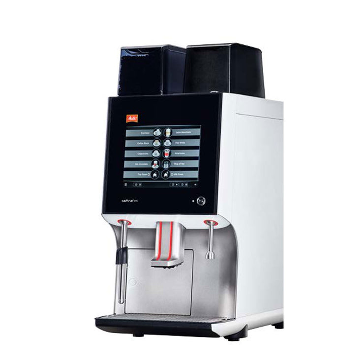 Side view of Melitta Cafina XT8 Commercial Coffee Machine