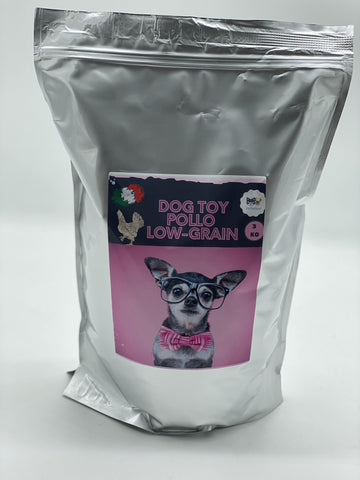 DOG MINI E TOY LOW GRAIN MONOPROTEINA DI POLLO - artpetfood