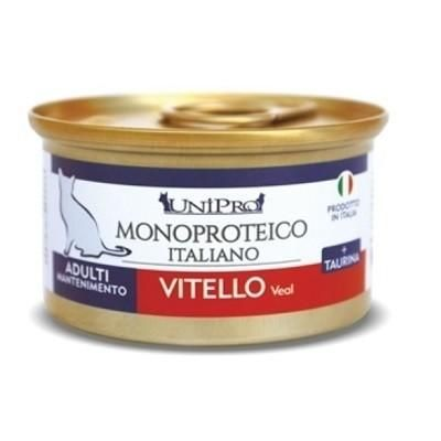 CAT MONOPROTEICO UNICAMENTE VITELLO    24 X 85 GR - artpetfood