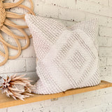 Cove - White Woven Cushion Cover