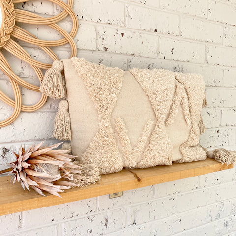 Dune Tuft Lumbar Cushion Cover