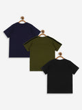 Bolts & Barrels Presents Pack of 3 printed T-shirt