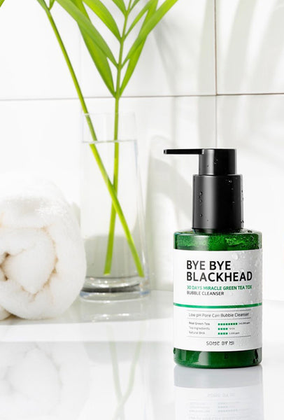 SOME BY MI - Bye Bye Blackhead 30days Miracle Green Tea Tox Bubble Cleanser