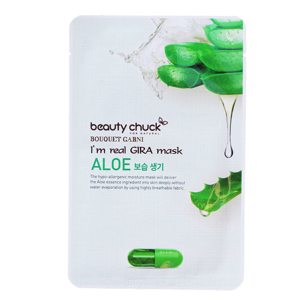BEAUTY CHUCK I'M REAL GIRA MASK ALOE