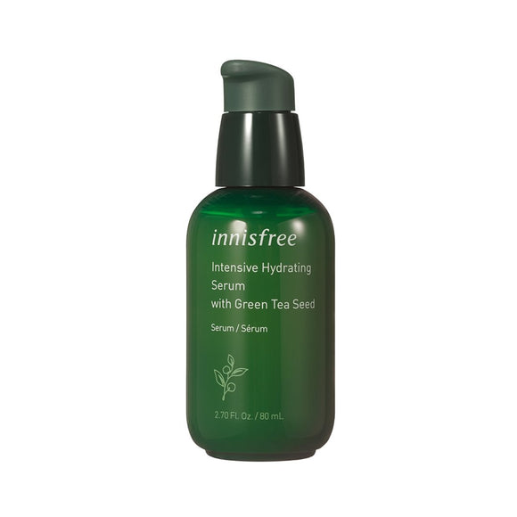 INNISFREE Green Tea Seed Serum asian authentic genuine original korean skincare montreal toronto canada thekshop thekshop.ca natural organic vegan cruelty-free cosmetics