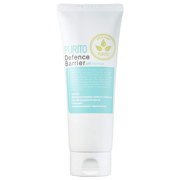 PURITO Defence Barrier PH Cleanser Canada Montreal Best Korean Foam Cleanser Natural Vegan Cruelty Free
