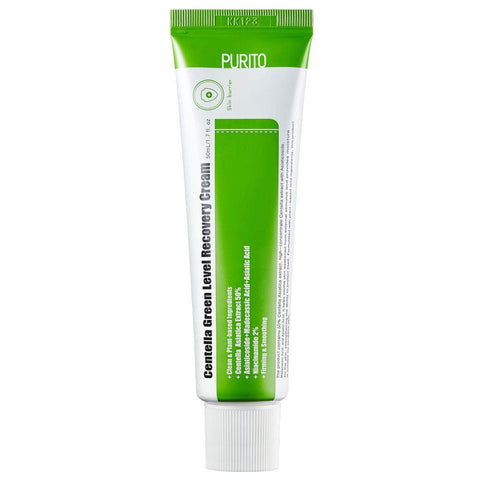 PURITO CENTELLA GREEN LEVEL RECOVERY CREAM - 50ML thekshop korean skincare cosmetics canada montreal toronto