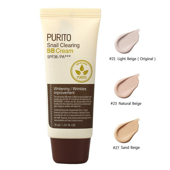 Purito Snail Clearing BB Cream - (SPF38 PA+++) Korean Asian Skincare Canada Montreal Toronto Vancouver thekshop
