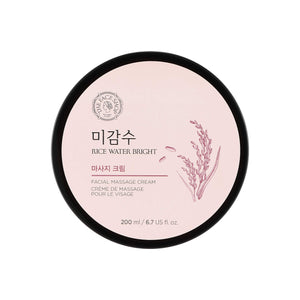 THE FACE SHOP - Rice Water Bright Massage Cream Canada Asian Korean Skincare thekshop