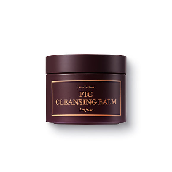 I'M FROM - Fig Cleansing Balm asian authentic genuine original korean skincare montreal toronto canada thekshop thekshop.ca natural organic vegan cruelty-free cosmetics