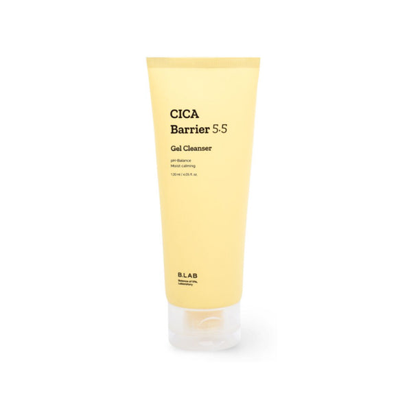 B-LAB Cica Barrier 5.6 Gel Cleanser asian authentic genuine original korean skincare montreal toronto canada thekshop thekshop.ca natural organic vegan cruelty-free cosmetics