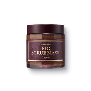 I'M FROM - Fig Scrub Mask asian authentic genuine original korean skincare montreal toronto canada thekshop thekshop.ca natural organic vegan cruelty-free cosmetics