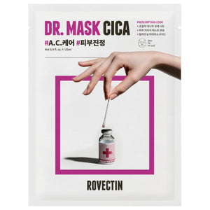 ROVECTIN Dr. Mask CICA kbeauty shop asian korean skincare montreal toronto vancouver canada thekshop.ca natural organic vegan cruelty-free cosmetics