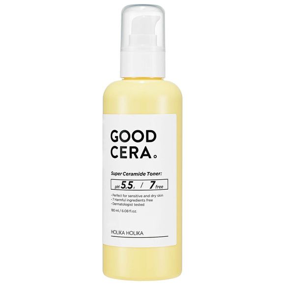 HOLIKA HOLIKA Good Cera Super Ceramide Toner asian authentic genuine original korean skincare montreal toronto canada thekshop thekshop.ca natural organic vegan cruelty-free cosmetics