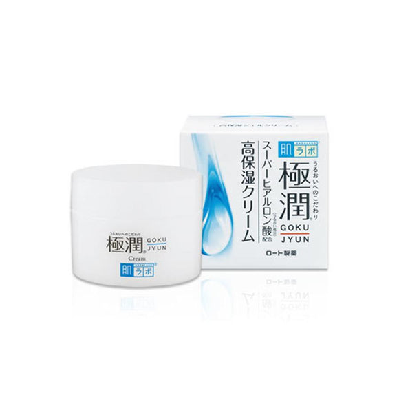 HADA LABO Gokujyun Hydrating Cream asian authentic genuine original korean skincare montreal toronto canada thekshop thekshop.ca natural organic vegan cruelty-free cosmetics