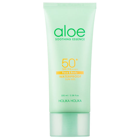 Holika Holika Aloe Waterproof Sun Gel SPF50+ PA++++ Montreal Canada Best Korean Asian Sunblock Sunscreen