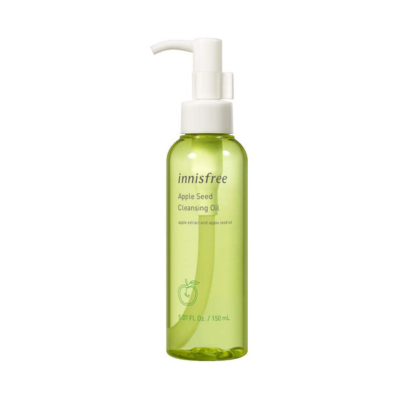 INNISFREE - Apple Seed Cleansing Oil asian authentic genuine original korean skincare montreal toronto canada thekshop thekshop.ca natural organic vegan cruelty-free cosmetics